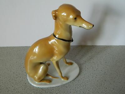 Gebruder Pfeiffer (1873-1930) Greyhound Or Whippet Dog Figurine - Gorgeous!