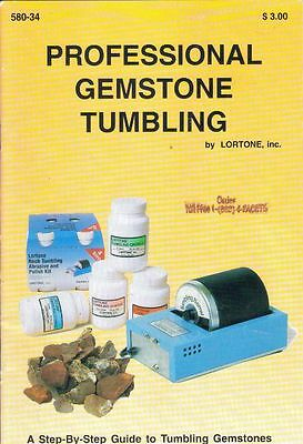 Professional Gemstone Tumbling: A Step-By-Step Guide to Tumbling Gemstones