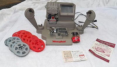Vintage Mansfield Deluxe Model 950, 8mm & 16mm Film, Viewer, Editor & Splicer
