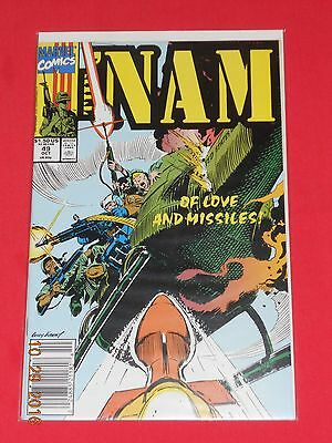 """""""THE 'NAM"""" # 49 comic book RELEASED BY MARVEL COMICS"""