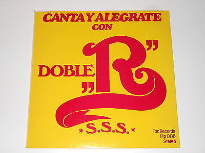 "Doble ""R"" - LP - Canta Y Alegrate - NL 1979 - FAC Records FLP 006"