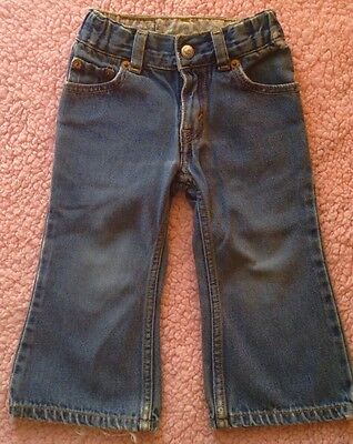 Levi's Toddler Girls' Jeans - Size 2T - 100% Cotton - 517 Flare