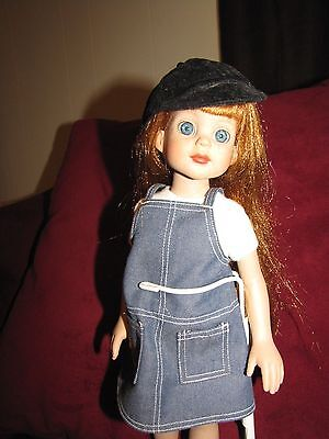 """Betsy McCall 14"""" Jane Redhead doll and stand"""
