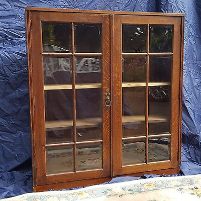 Victorian Mahogany Glass Fronted Bookcase / Display cabinet