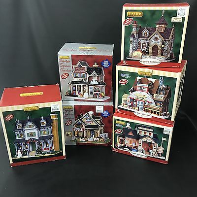 Lemax Christmas Village Collection Lot Buildings Vail Davis Residence Signature