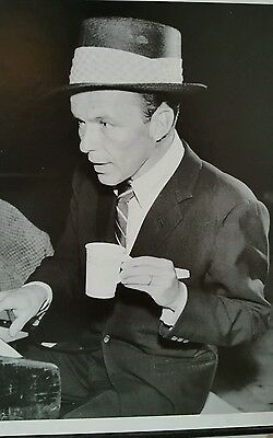 Frank Sinatra wooden framed picture REDUCED START PRICE