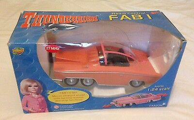 Thunderbirds FAB 1 Radio Control Car