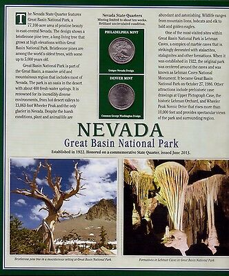 2013 Nevada State Quarter's &  Stamps - Mint Collector Set ID : 3538