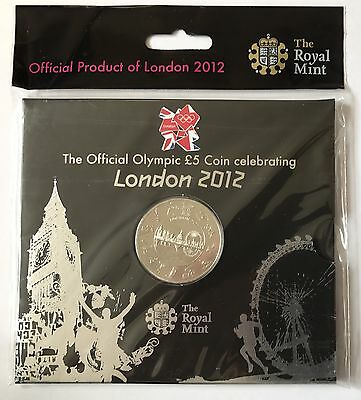 London 2012 Royal Mint Official Olympic £5 Coin New Sealed Presentation Pack