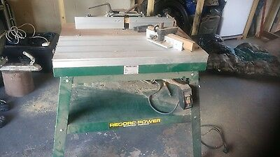record power router table and half inch chuck router