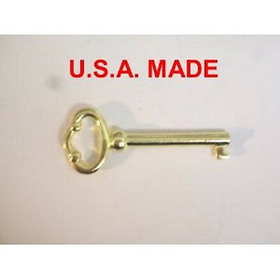 NEW Grandfather Clock DOOR KEY Howard Miller Ridgeway Sligh Pearl Seth Trend   -
