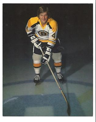 "Bobby Orr 8"" X 10"" Color Photograph Boston Bruins #4"