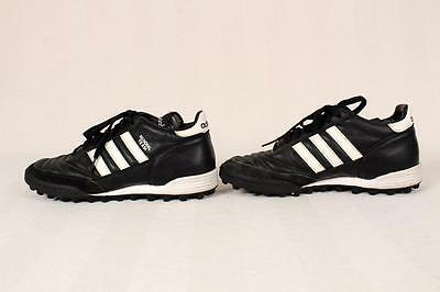 VTG Adidas Mundial Team Astro Black Leather Turf Indoor Cleats Soccer Shoes 4.5