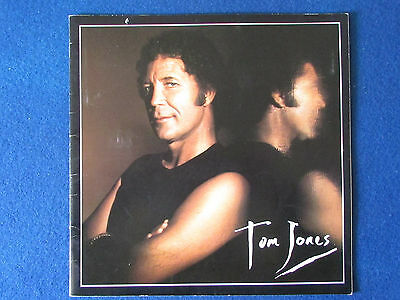 Tom Jones - Concert Tour Programme - 1987