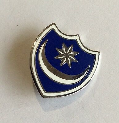 "PORTSMOUTH Football Club Badge FC Supporters ""POMPEY"" ENAMEL 18 mms PIN"