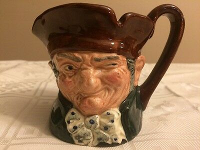 Old Charley D 5527 jug by Royal Doulton PERFECT CONDITION