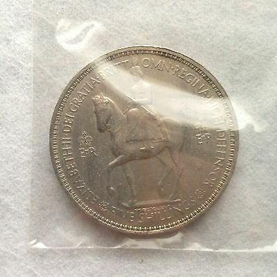 1953 Commemorative 5 Shilling Coin: Coronation of Queen Elizabeth II