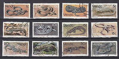 Venda - 1986 - Scarce commercially used stamps