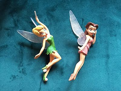 Tinker bell Figure Plus One Other Fairy Figure