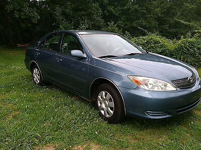 2003 Toyota Camry LE 2003 TOYOTA CAMRE LE