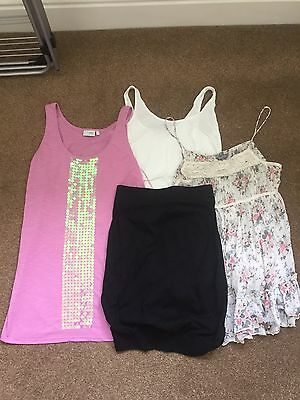 4 x Maternity Tops Size 12 Next/New Look