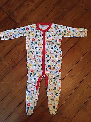 Next Baby Boy Alphabet Long Sleeve Sleepsuit Age 12-18 Months