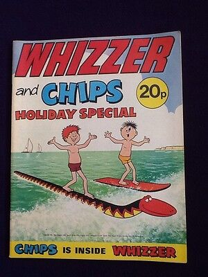 WHIZZER AND CHIPS HOLIDAY SPECIAL - UK comic 1974 Summer Edition
