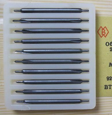 Packing 10 PCS D 0,9 mm - 2,0 mm CENTER CARBIDE  DRILLS COMBINED .
