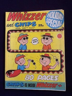 WHIZZER AND CHIPS HOLIDAY SPECIAL - UK comic 1975 Summer Edition