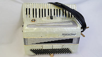 "Marca D'oro Piano Accordion ~ 2/4 Reeds - 120 Bass ~ 16.75"" Keyboard ~ Italian"