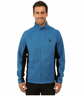 Spyder Constant Full Zip Mid Weight Core Sweater Men's Size L, NWT