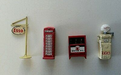 Dinky toys job lot of accessories.