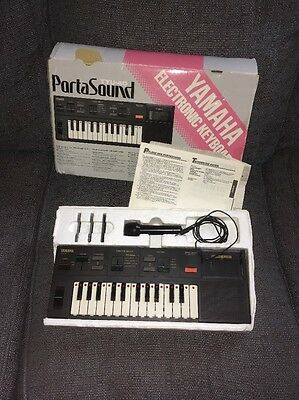 Yamaha TYU40 Portasound Keyboard - Retro 80s Mini Keyboard TYU-40