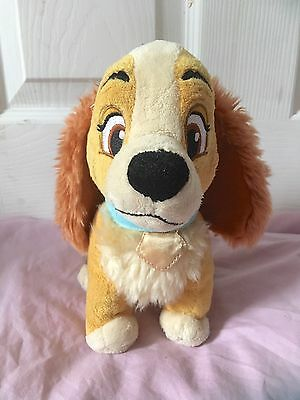 The Disney Store Lady From Lady & The Tramp Small Plush