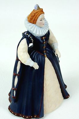 Franklin Mint Elizabeth 1st Limited Edition Figurine 1984 Hand Painted
