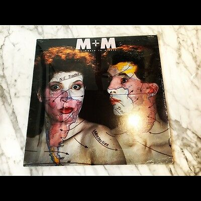 M + M – The World Is A Ball LP 1986 1st Press Sealed Mint Record Rare