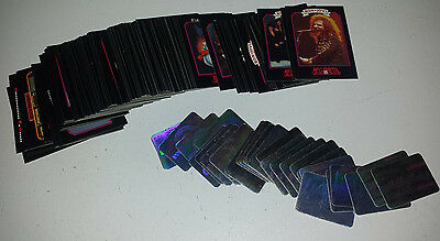 megametal: 159 card set 1991 maiden,priest,king,auclear,sod,dio,skid.HOLOGRAMS