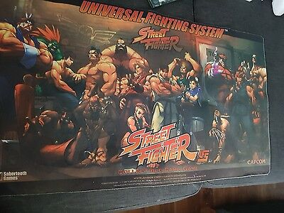 Original Street Fighter gaming playmat TGC