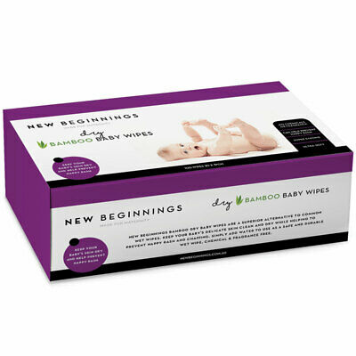 New Beginnings Dry Wipes 100 Pack