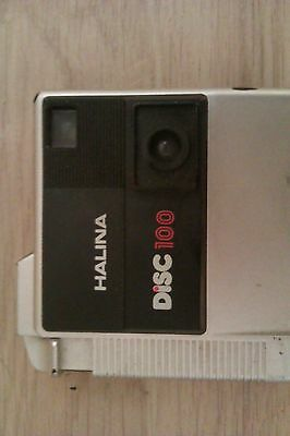 vintage halina disc camera