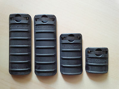 4 x New Genuine KAC Knights Armament Rail Covers