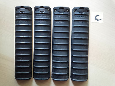 "4 x KAC Knights Armament Rail Covers ""VERO BEACH"" (LOT C)"