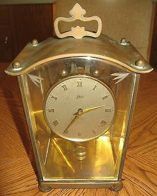 Vintage Schatz & Sohne 400 Day Clock As Is For Parts or Repair Made in Germany