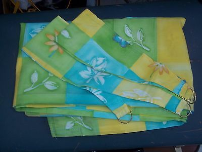 """Curtains Size 64"""" X 54""""  New"""