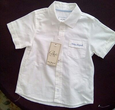 Mayoral baby boy.  Linen/cotton shirt 24 months