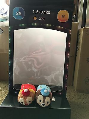 Disney Store Japan 3rd Tsum Tsum Anniversary Chip Dale Band Outfit Plush Set
