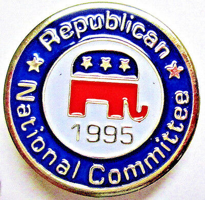 Vintage Collectible Republican National Committee 1995 Lapel Pin - GOP Lapel Pin