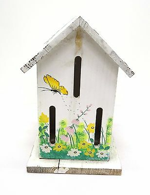 Vintage Butterfly House - Cottage Garden Decoration -  Hand Painted 1960s