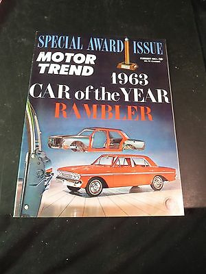 1963 Rambler Advertisement Special Award Motor Trend Car of the Year