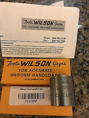 Wilson Case Length Gage 38 Special
